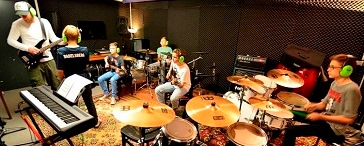 Youth Band rehearsal